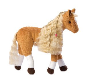 Only Hearts Horse and Pony Club Plush Foal - Cutie Pie the Palomino