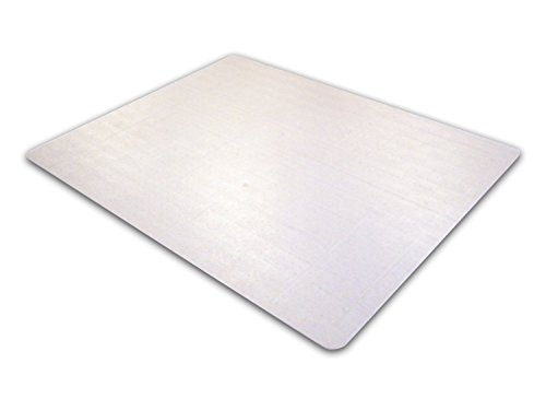 "Floortex Polycarbonate Chair Mat for Carpets to 1/2"" Thick, 60"" x 48"", Rectangular, Clear (AFRREM48060)"