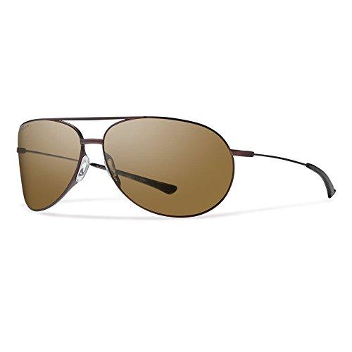 Smith Optics Rockford Sunglasses (Polarized Brown,Matte - Sunglasses Rockford Smith