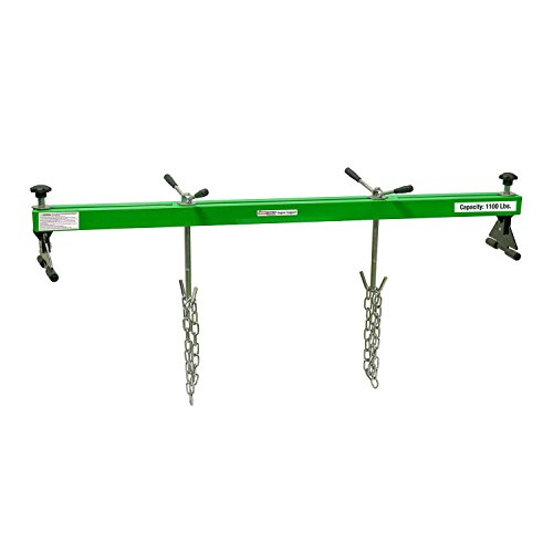 OEMTOOLS 24950 1100 Lb Support Hoist for Home Garages & Mechanics | Keeps Stable & Lifted While You Work on Subframe, Transmission, More | Two Engine Lift Chains Included