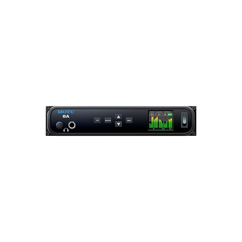 MOTU 8A 16x18 Thunderbolt / USB 3.0 Audio Interface with AVB