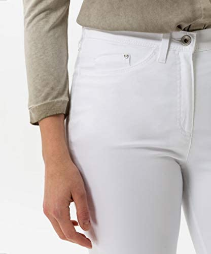 Raphaela by Brax Laura Touch Cotton Pantalon, Blanc (White 99), 50 (Taille Fabricant: 48) Femme
