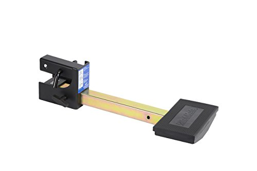Down Hitch Step Black Fold (Heininger 4045 HitchMate TruckStep for 2