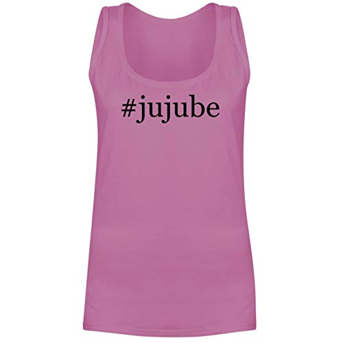 The Town Butler #jujube - A Soft & Comfortable Hashtag Women's Tank Top, Pink, Small