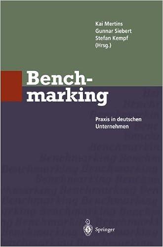 Benchmarking: Praxis in deutschen Unternehmen