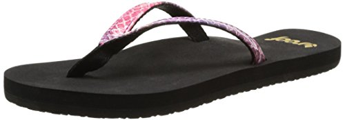 Reef Little Uptown Girl ,Black/Purple,3/4 M US Toddler