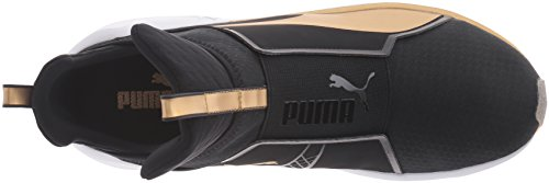 Puma Fierce Damen Hohe Sneakers, Schwarz (Black-Gold 02), 41 EU