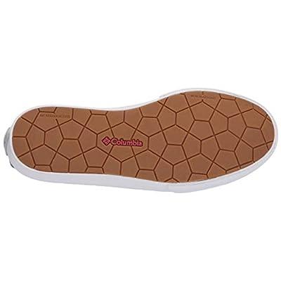 Columbia PFG Women's Dorado Slip PFG Boat Shoe mirage, sunset red 8.5 Regular US | Loafers & Slip-Ons