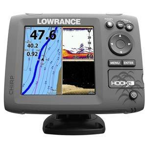 Lowrance HOOK-5 Fishfinder/Chartplotter Combo w/No Transducer -  9420024146552