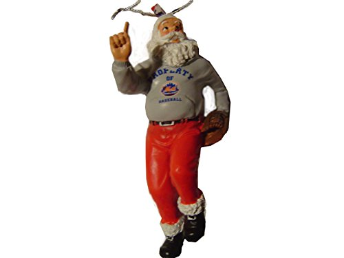 - Forever Collectibles New York Mets Santa Claus Holiday Christmas Ornament