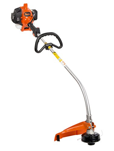 Tanaka TCG22EAP2SL 2-Cycle Gas Powered Solid Steel Drive Shaft String Trimmer/Brush Cutter, 21cc