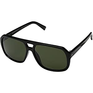 Electric Eyewear  Men's Dude Gloss Black/Ohm Grey Sunglasses