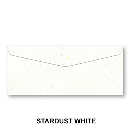Neenah Astrobrights #10 Color Envelopes - 50 Envelopes (Stardust White)