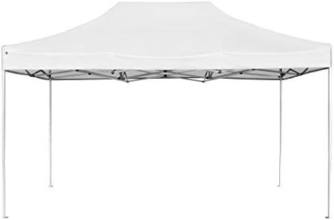 vidaXL Carpa Plegable Profesional Aluminio Cenador Pagoda Pérgola Fiestas Jardín Celebraciones Salones Estructuras Recintos Parasoles 4,5x3 m Blanco: Amazon.es: Hogar