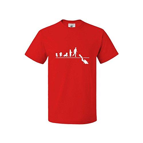 Mygoodprice - Camiseta - para hombre Rojo