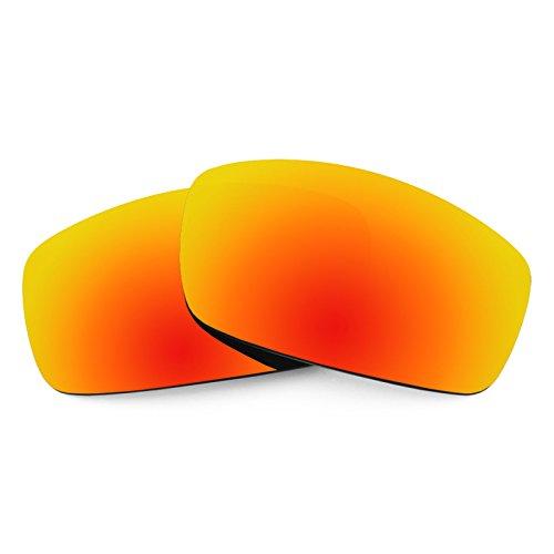 Verres de rechange pour Spy Optic Cooper XL — Plusieurs options Polarisés Elite Rouge Reu MirrorShield®