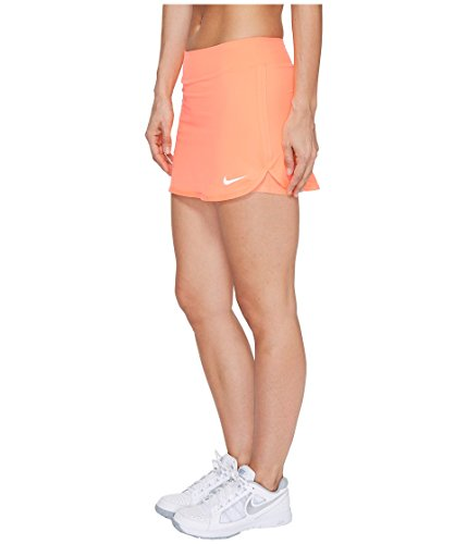 Gonna Da Tennis Nike Court Pura Da Donna Arancio / Bianco
