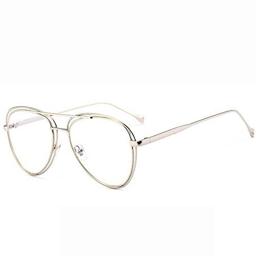 7d9379894b Gafas De Sol Gafas De Sol De Metal Gafas De Sol Para Hombre Lente Doble  Círculo ...