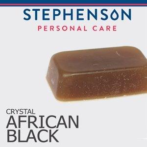 Stephenson African Black Melt and Pour Vegetable Glycerin Soap Base - 2 lb