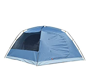 NTK Omaha GT 6 Person 10×10 Foot Outdoor Dome Family Camping Tent 100 Waterproof 2500mm, Easy Assembly, Durable Fabric Rainfly, Micro Mosquito Mesh for Extra Ventilation