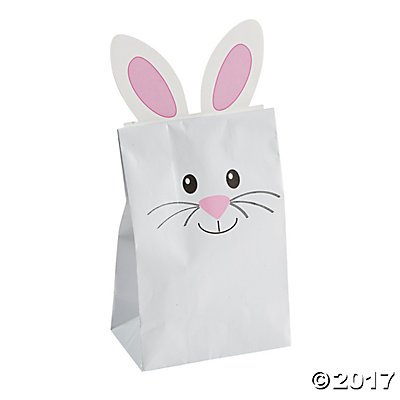 Easter Bunny Treat Bags 12