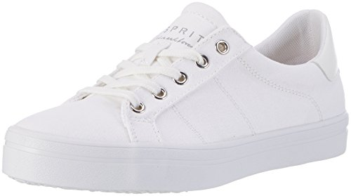Esprit Mindy Lace Up, Zapatillas para Mujer Blanco (100 White)