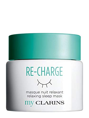 my CLARINS Re-Charge Relaxing Sleep Mask 50 mL
