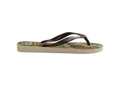 Havaianas brown Uk Flops 1213 Beige Flip Ipe rqwZx6r