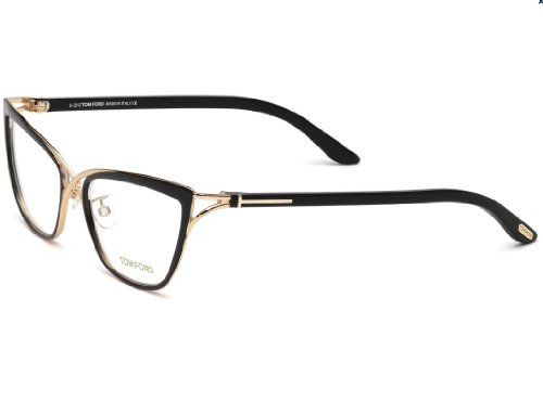 TOM FORD FT5272 Eyeglasses Frame Shiny Black (005) TF5272 ...