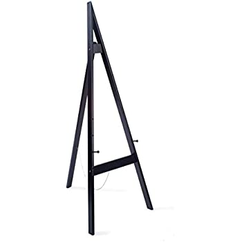 Amazon Com Wooden Display Easel With Height Adjustable