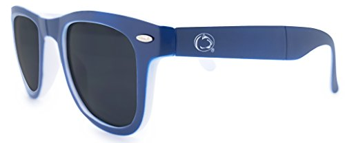 Game Pouch - NCAA Penn State Nittany Lions Game Day Sunglasses with Microfiber Carrying Case/Pouch - Fully Folding