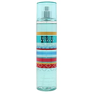 Bath & Body Works Fine Fragrance Mist for Women, Endless Weekend, 8 Ounce