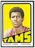 1972 Topps Regular (Basketball) Card# 193 Wilbert Jones of the Memphis Tams VG Condition