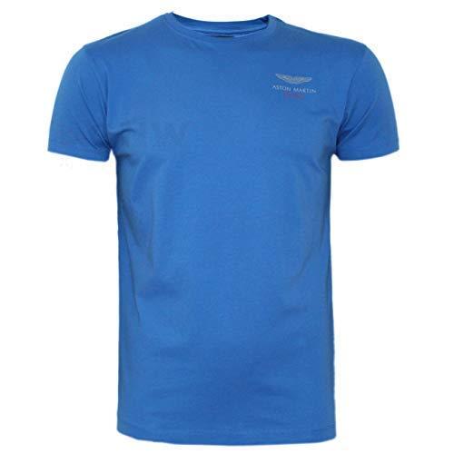 Hackett London - Camiseta - Liso - Clásico - para Hombre Azul Azul ...