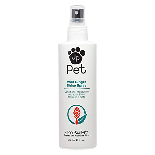 inger Shine Spray for Dogs and Cats, Soothes Conditions Moisturizes and Revitalizes Shine, Non-Aerosol, 8-Ounce ()