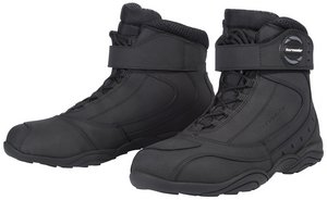 Tour Master Response WP 2.0 Road Men's Leather Street Bike Motorcycle Boots - Black / Size 9
