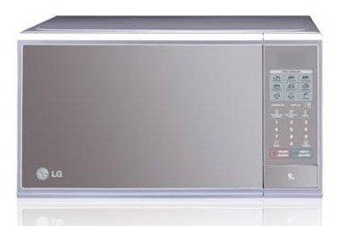 LG MS1140SL Encimera 1000W Espejo, Plata - Microondas ...