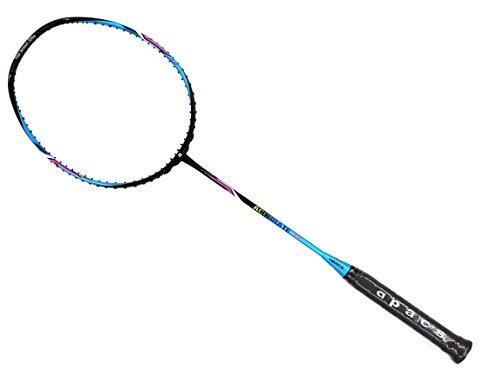 Apacs Accurate 77 Blue Black Glossy Badminton Racket (4U) by Apacs