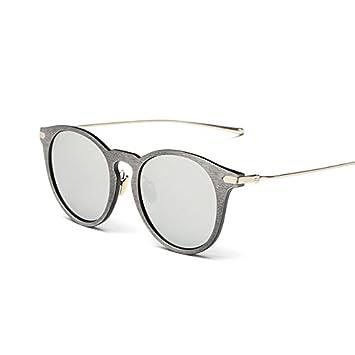 tocoss (TM) imitación oro madera gafas de sol Hombres ...
