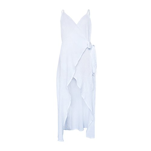 Robe Sex Fille poour Robe Nu Dos Blanc Ete YYF Plage Femme vacance qfgwEE