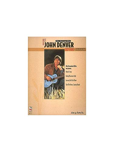 Best Of John Denver Easy Piano. Partituras para Piano, Voz y ...