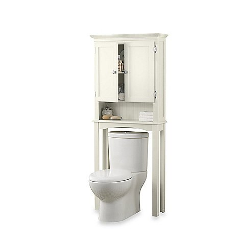 Fairmont Space Saver Bathroom Cabinet in White by fairmont