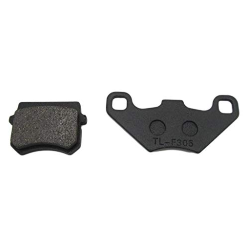 Motorcycle Brake Pads For ATV Brake Disc Disc Brake Pads Elf Brake Pads Accessory Brake system (Color : Black):