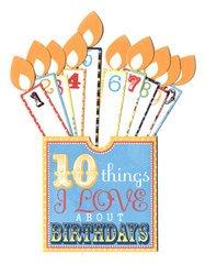 (Birthday 10 Things Pocket // Deja Views)