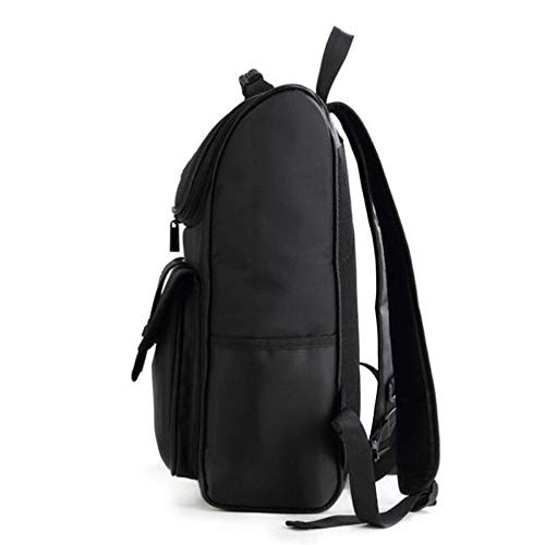Men's Bag Waterproof Black Computer Student Business Casual Dhfud Backpack H4pYwxEqna