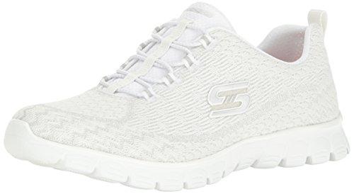 donne Bianco SKECHERS FLEX Bianco scarpe Donne Sport modello marca per Le EZ Per ESTRELLA colore White Sport 30 Wht Scarpe le SKECHERS ftXaq