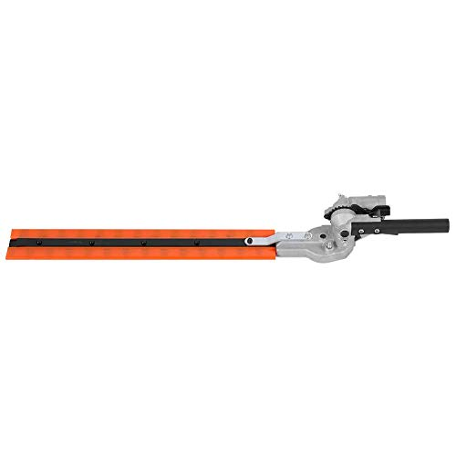 TOPINCN Electric Hedge Trimmer Universal Hedge Trimmer Attachment Expand Double Sided Blades 7 Teeth 17-1 inch