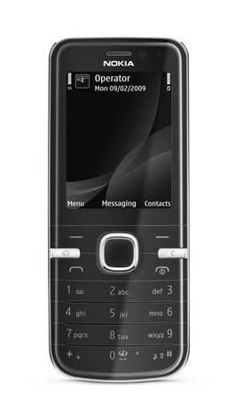 Unlocked Nokia 6730 Classic 3G GPS Quadband Phone (Black)- international phone ()