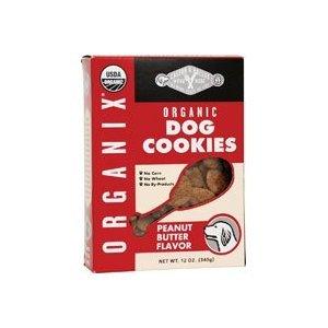 Castor & Pollux Organix Organic Dog Cookies - Peanut Butter - 12 oz