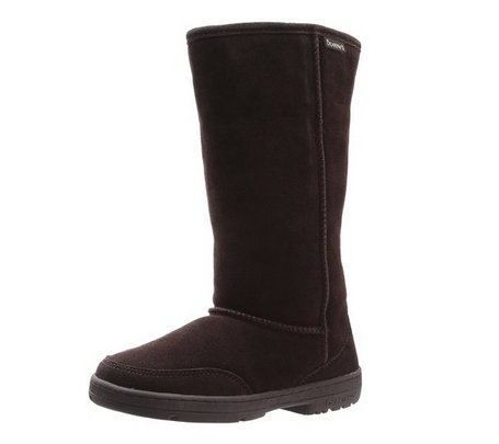 "Women's Bearpaw Winter Boots Meadow 10"" Chocolate - Womens"